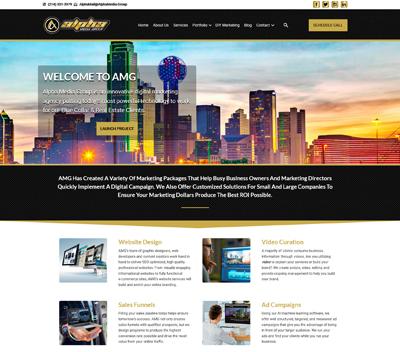 Media Group Website
