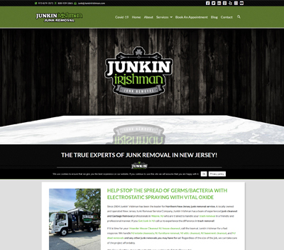 Junk Hauling Website