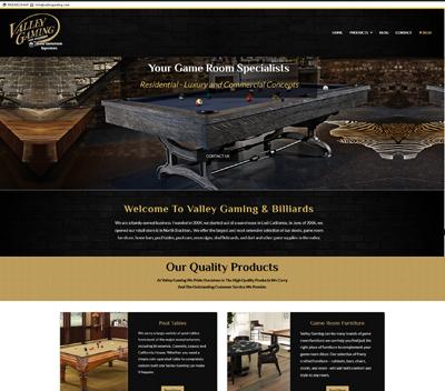 Billiards Website