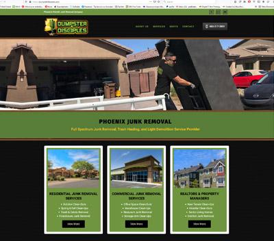 Junk Removal Website